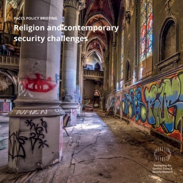 """PaCCS Policy Briefing on """"Religion and Contemporary Security Challenges"""""""