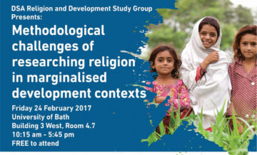 Methodological Challenges of Researching Religion in Marginalized Development Contexts