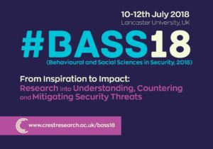 BASS18 – International Conference on Behavioural and Social Sciences in Security